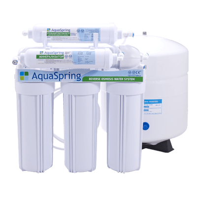 Фильтр Aquaspring AS-600 LUX с минерализатором
